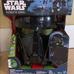 Star Wars imperial soldier mask and voice changer
